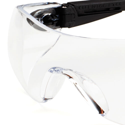 Univet 529 Anti Scratch PLUS Safety Glasses With Clear Lens 529.00.05.00