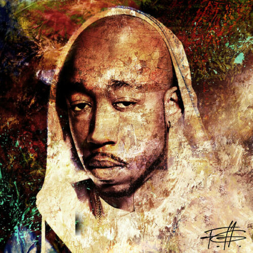 T-1194 Freddie Gibbs Baby Face Killa Cover Album Art Silk Poster