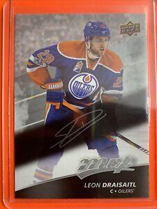 2017-18 Upper Deck MVP Silver Script #32 Leon Draisaitl Edmonton Oilers Insert