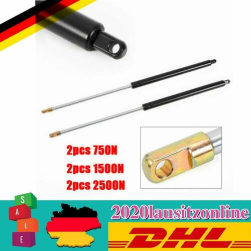 2*Gasdruckdämpfer Gasdruckfeder Gasfeder universal 750N//1500N//2500N Hub 325mm