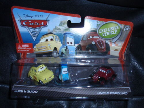Disney Cars 2 Movie Moments 2 pack LUIGI GUIDO TOPOLINO