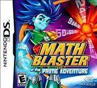Math Blaster in the Prime Adventure (Nintendo DS, 2009)