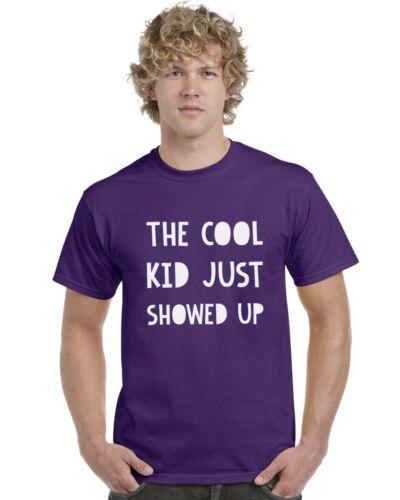 THE COOL KID vient d/'arriver Kids T-shirt Tee Top 3-13 ans