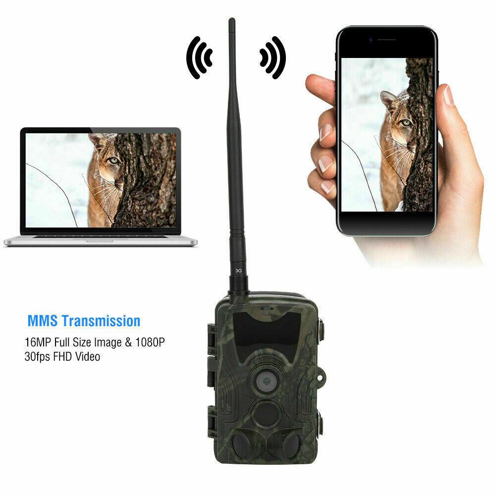 HC-801G 3G 16MP 1080P HD Hunting Camera MMS SMS Night Vision Trail Cam Wateproof