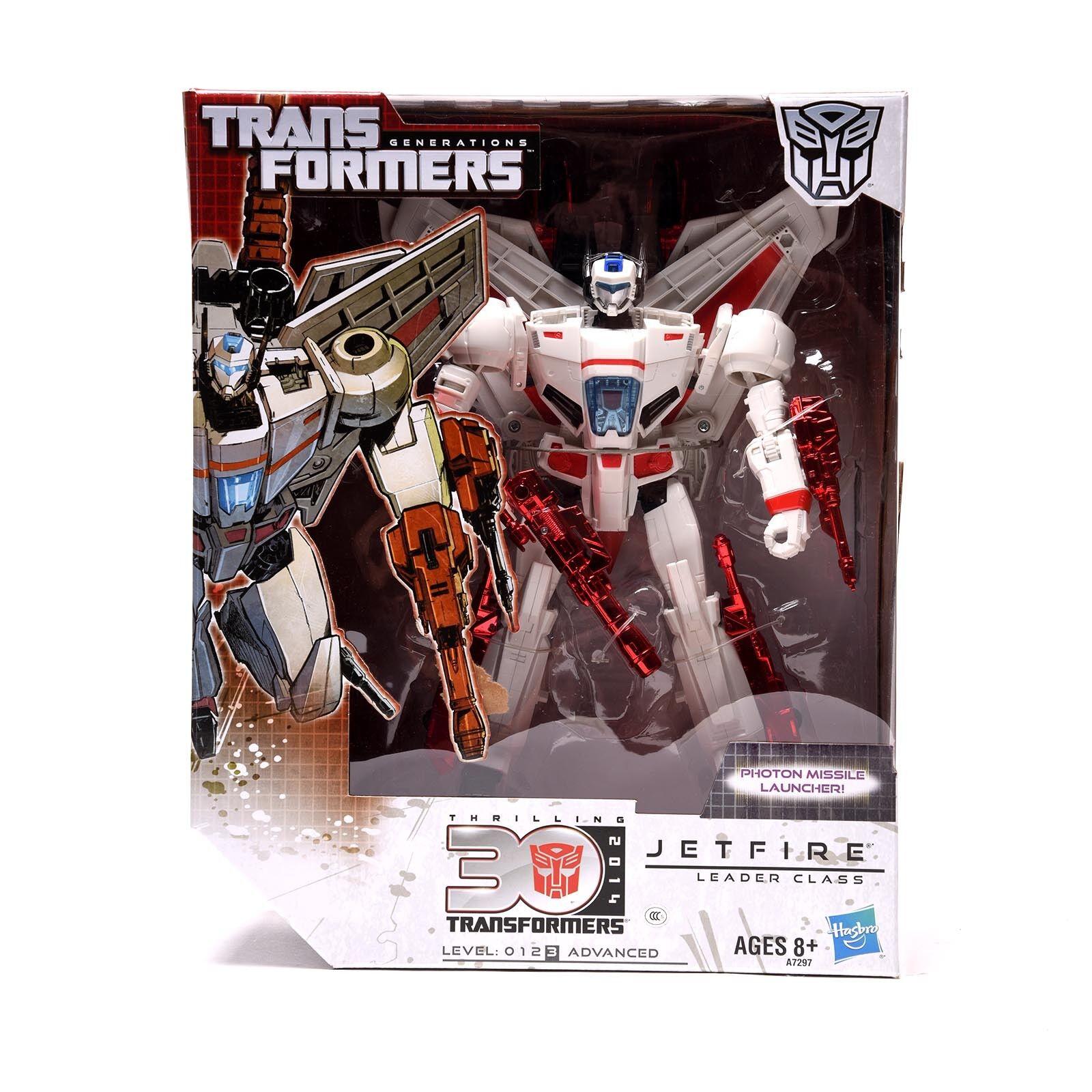 30th Anniversary Hasbro Transformers Generations Thrilling IDW Leader Jetfire