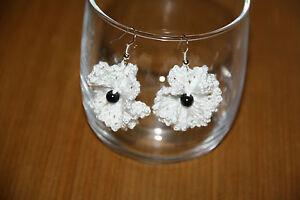 HANDMADE-CROCHET-white-poppy-earrings-REMEMBRANCE-DAY-POPPY