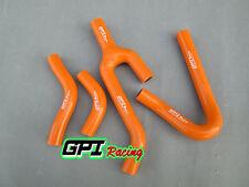silicone radiator hose for KTM 250/300/380 SX/EXC/MXC 1998-2003 99 00 01 02