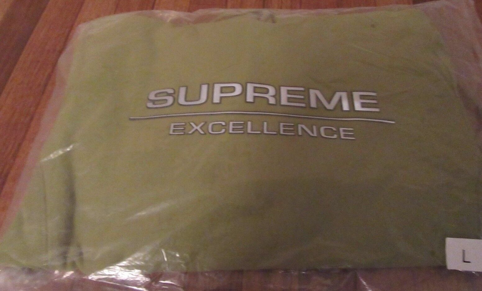 Supreme Reflective Excellence Hooded Sweatshirt Hoodie Größe Large Moss Grün NEW