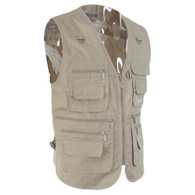 Unisex Outdoor Jagd Angler Weste mit vielen praktischen Taschen