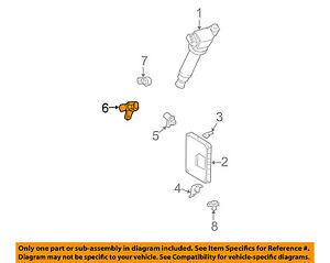 Fits Ford Engine Crankshaft Crank Position Sensor CPS 1W7Z6C315AB