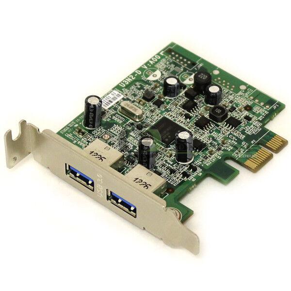 Lot of 5 Dell 2 Ports USB 3.0 Expansion Card Low Profile  PCIe x1 FWGJ8 0FWGJ8