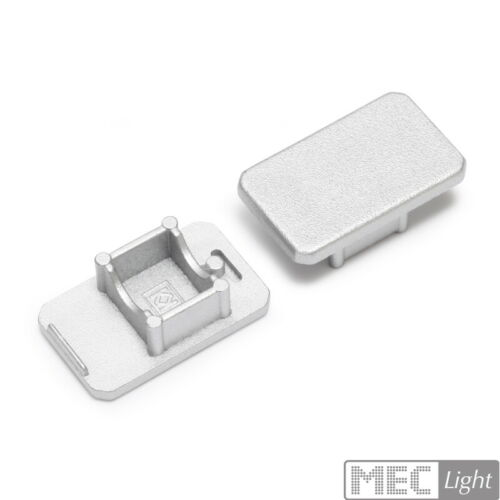 "Glaskanten-ProfilLeisteSchiene /""MIKRO-LINE/"" Led Streifen Aluminium silber"