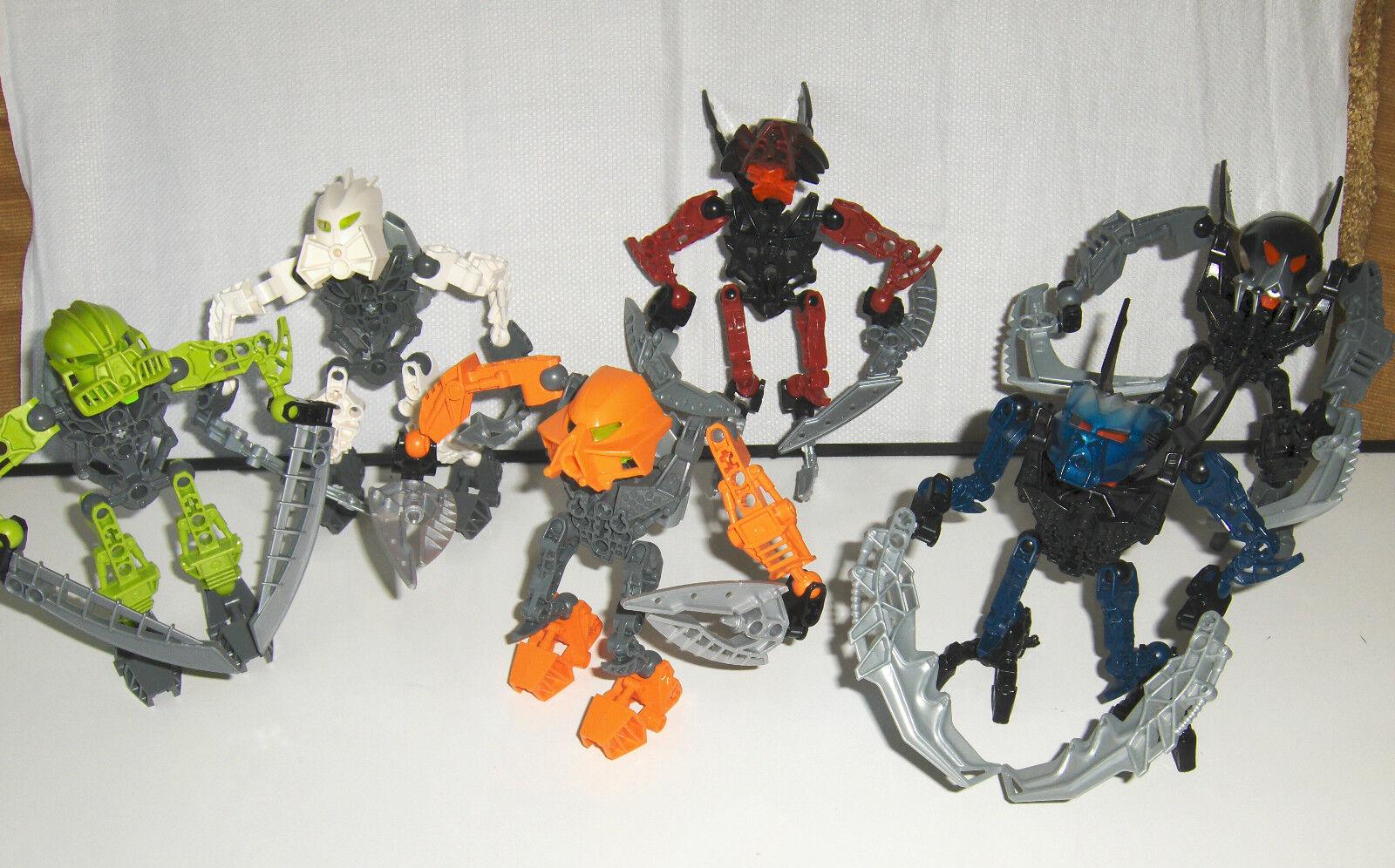 LEGO K8944 MATORAN OF LIGHT COLLECTION, COMPLETE, 8944 8945 8946 8947 8948 8949