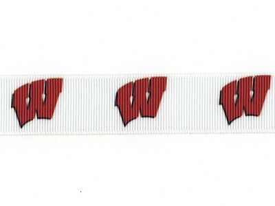 "Indiana University Hoosiers Football 7//8/"" Grosgrain Ribbon 1,3,5,10 yards"