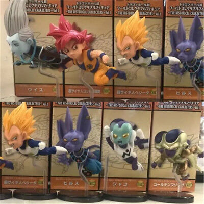 6pcs Dragon Ball Z DBZ Super WCF World Collectable 30th Vol.3 Figures Toy In Box