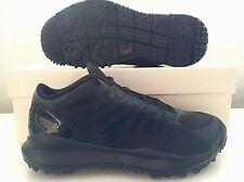 Nike Air Jordan Dominate Pro Golf Shoes Tour All Blackout 707516-010 Men's Sz 10