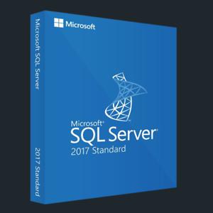 Sql Server 2017 Standard Lifetime License Key Fast Delivery English Spanish Ebay