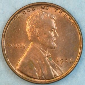 1936-P-Lincoln-Wheat-Cent-UNCIRCULATED-FAST-S-amp-H-34028