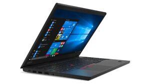 "New Lenovo ThinkPad E15 15.6"" FHD i5-10210U 8GB 256GB SSD Webcam Win10 Pro Black"