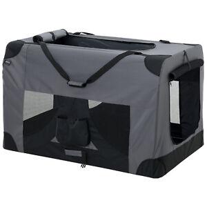 Pro.tec® Cage De Transport Pour Chien Xxxl Gris Pliable Boîte
