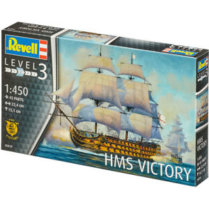 Revell HMS Victory (Level 3) (Scale 1:450) 05819 NEW