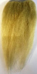 Icelandic sheep hair for fly tying Yellow ICE FLIES