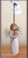 WITH AFFECTION ORNAMENT ANGEL WITH CAT FROM WILLOW TREE® FREE U.S. SHIPPING