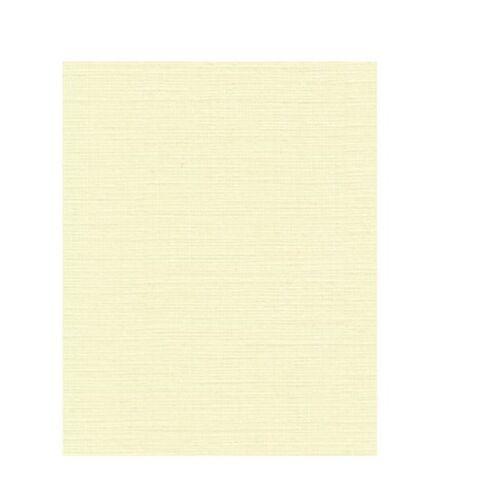 50 X Zeta ropa de textura Marfil Crema A4 papel Whatman 100gsm