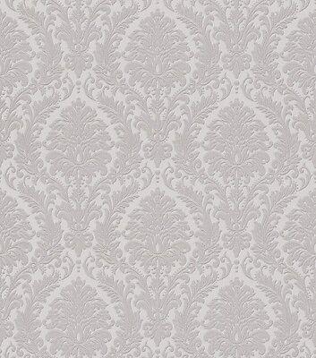 Vlies Tapete Trianon 512823 Rasch Barock retro Ornament elegant antik edel grau