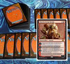 mtg RED ARTIFACT DARETTI DECK Magic the Gathering rare cards