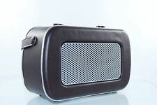 DUAL NR 11 UKW-/ MW-Radio im Leder Optik Kopfhöreranschluss Nostalgie Retro