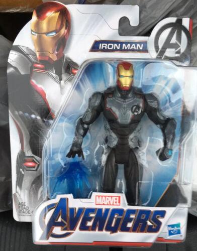 "MARVEL Avengers Issue Iron Man 4/"" Action Figure Mic Hasbro Comme neuf on Card"
