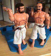 VINTAGE AURORA 1975 KARATE FIGHTING MEN Rock Em Sock Em GI Joe Clone Works Toy