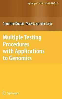 1 of 1 - Multiple Testing Procedures with Applications to Genomics (Springer Series in St