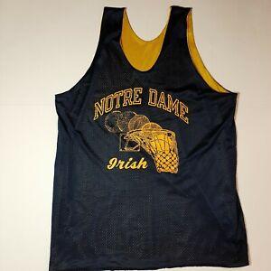 Vtg 80s eagles basketball vest reversible