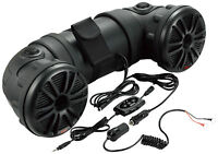 Utv Atv Jeep Ultimate Marine Grade Bluetooth 6.5 450 Watt Speaker System