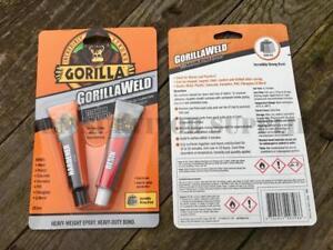 Super Glue For Metal >> Details About New Gorilla Weld Titanium Bond Epoxy Gorillaweld Super Glue Adhesive Metal Pvc