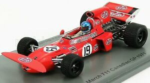 SPARK-MODEL 1/43 MARCH | F1  711 N 19 CANADIAN GP 1971 M.BEUTTLER | RED