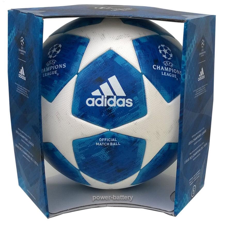 ADIDAS FINALE FINALE FINALE 18 PROFI MATCHBALL SPIELBALL 201-2019 UEFA CHAMPIONS LEAGUE+BOX 1c2983