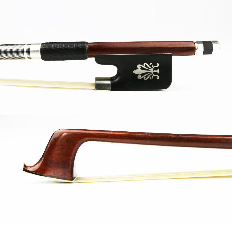NEW 4 4 Size Advanced Pernambuco Cello Bow ,Natural Mongolia Horsehair,Warm Tone