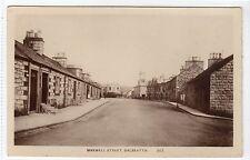 MAXWELL STREET, DALBEATTIE: Kirkcudbrightshire postcard (C13614)