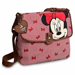 Disney Baby Babymel Minnie Mouse Diaper Bag Red Changing