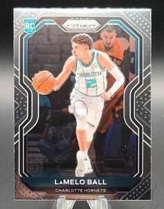 2020-21 Panini Prizm LaMelo Ball Base RC Charlotte Hornets #278