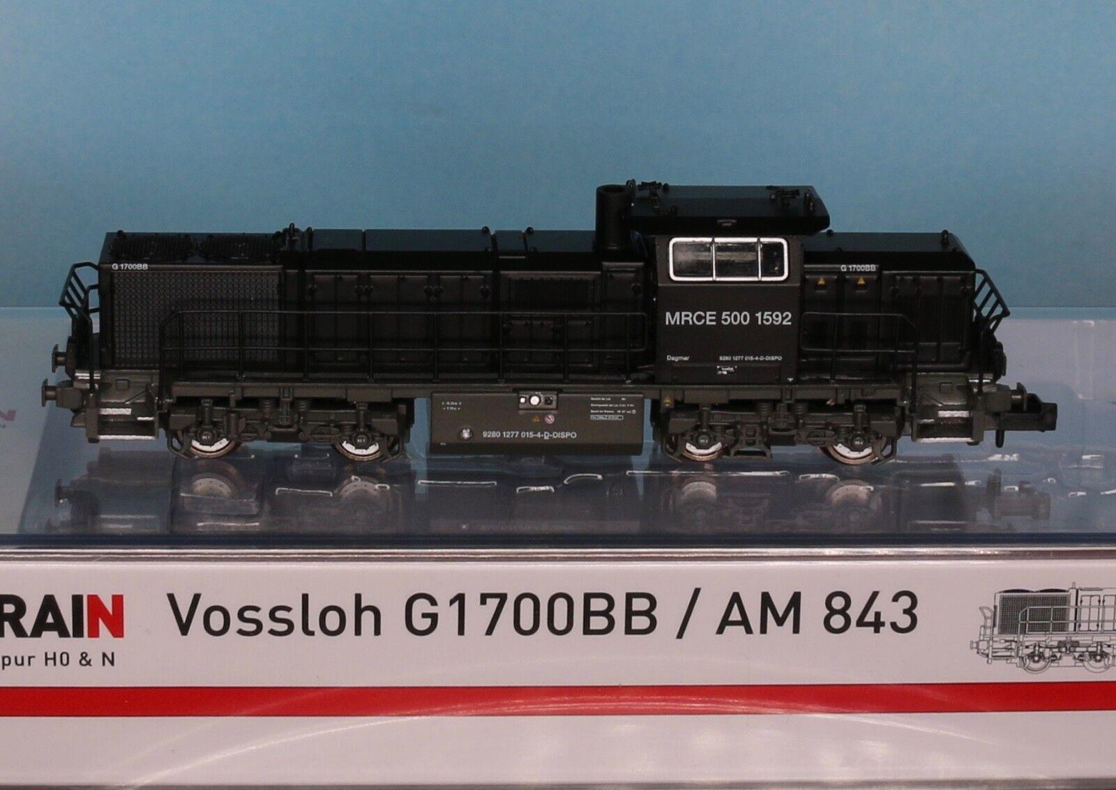 Hobbytrain Hobbytrain Hobbytrain 2942, Traccia N, Diesel MRCE g1700   5001592, ep. 6, Hobbytrain h2942 03658c