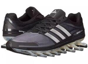 3e4545b5eeb Men s SIZE 11 ADIDAS Springblade M Sneakers Black  Gray G66648