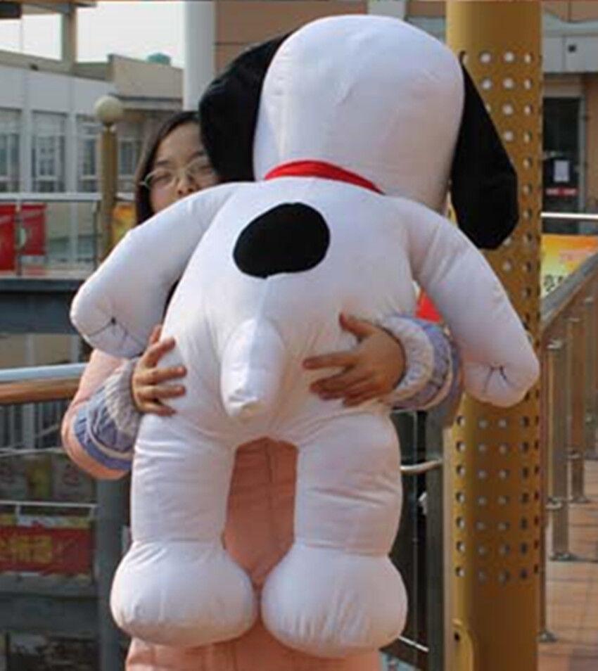 41.3'' Peanuts Giant Snoopy Dog W Tie Plush Stuffed Toy Dolls kids Birthday Gift