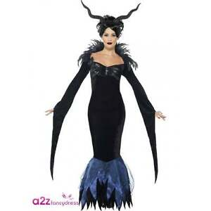 Maleficent Costume Adult Halloween Fancy Dress