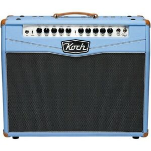 Koch The Greg Greg Koch Signature 50W 2x10 Tube Guitar Combo Amp Blue LN