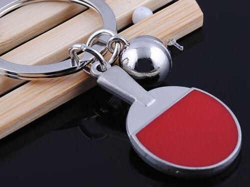 HJ058 Table Tennis Keyring Sports Classic  Pendant Key Bag Chain Creative Gift