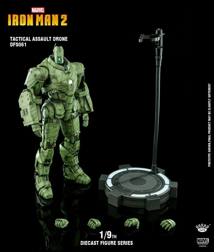 1 9 Alloy Marine Corps Action Figure Movable Hanmo Steel Soldier Doll DFS061